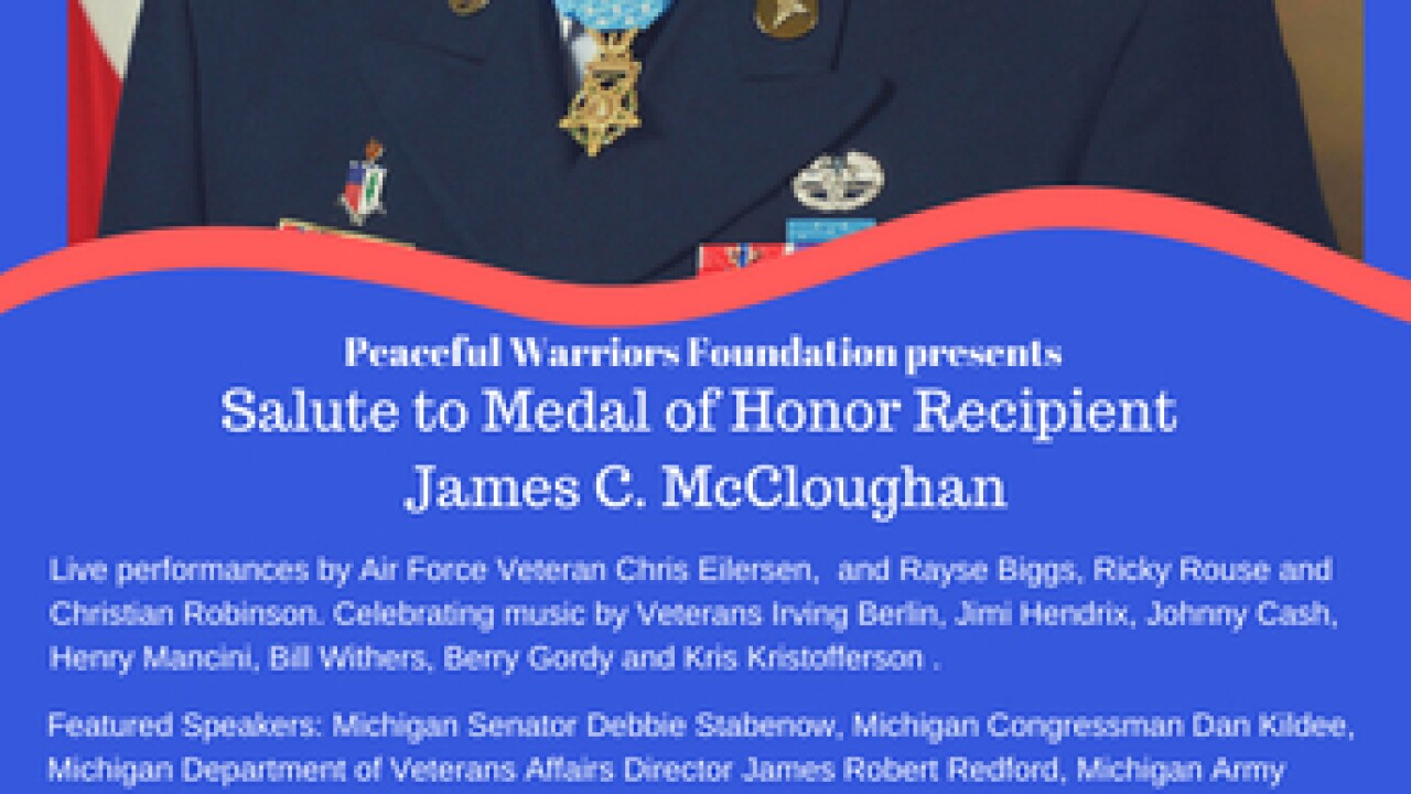 Peaceful Warriors Foundation to Honor Veteran