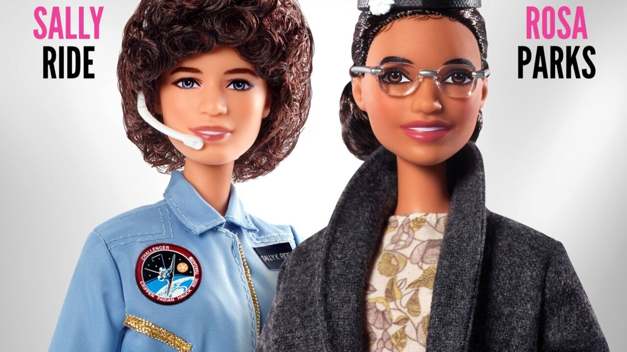 Rosa Parks and Sally Ride get their very own Barbie dolls
