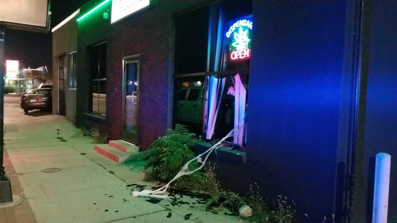 Denver Federal and 3rd dispensary smash and grab_Sept . 23 2019