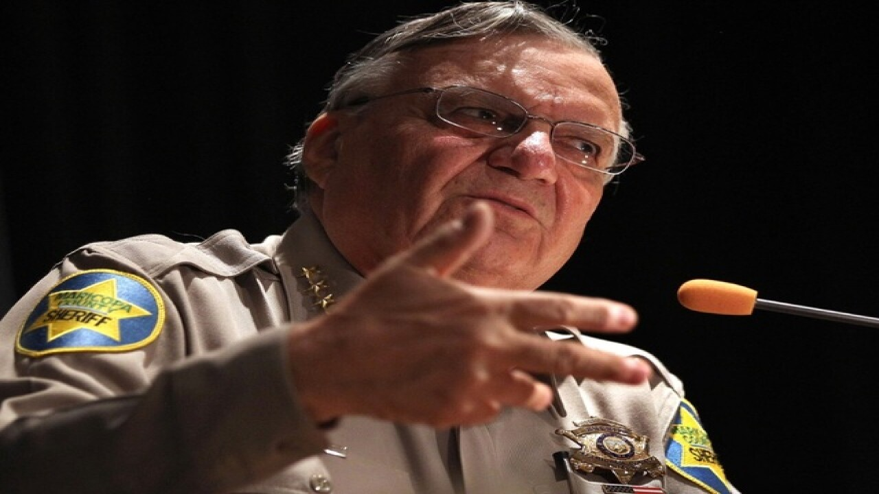 Sheriff Arpaio, others held in civil contempt