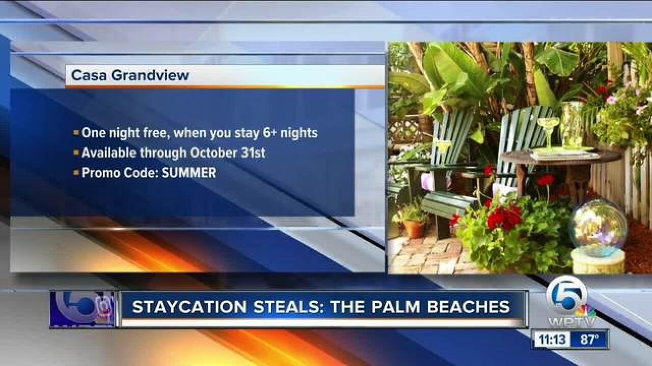 September Staycation Deals in The Palm Beaches