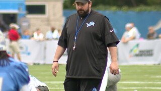 Lions kick off first training camp with coach Matt Patricia
