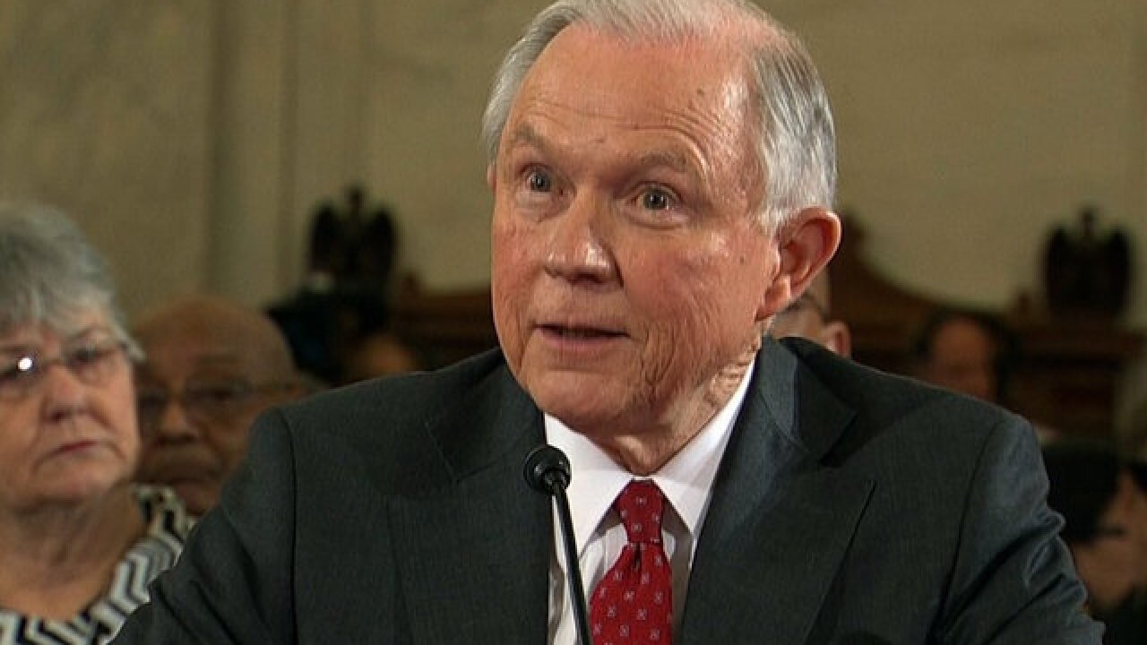 Jeff Sessions says he didn't mislead Congress in testimony