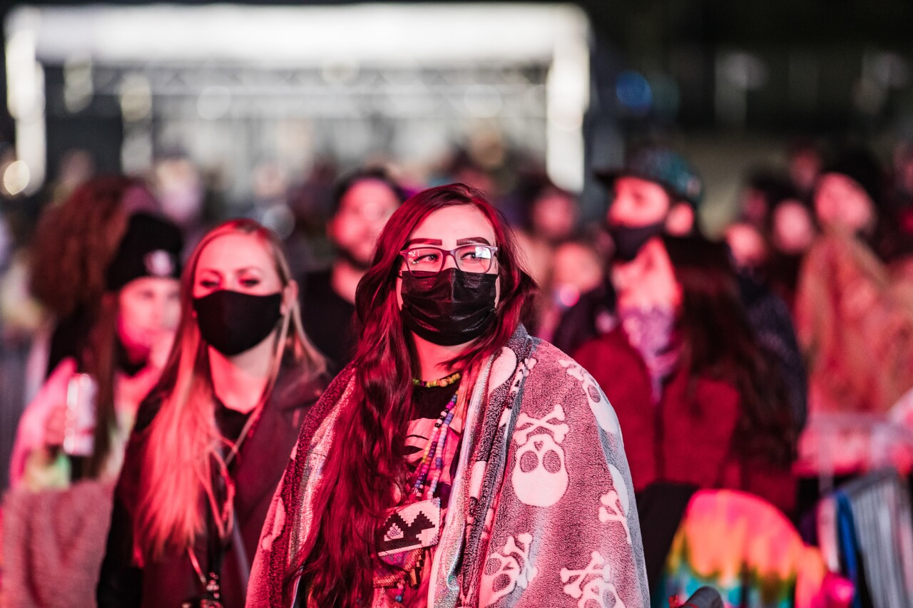 Liquid Stranger show at the Crofoot Festival Grounds, May 8