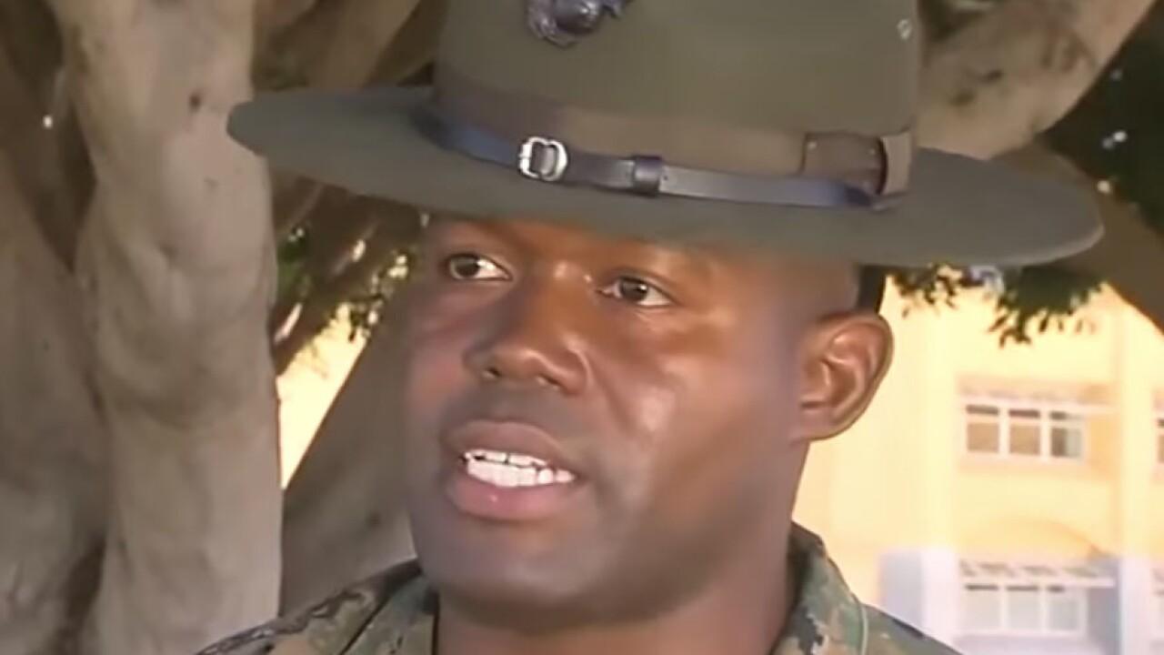 Marine Sgt. Gary Wilson