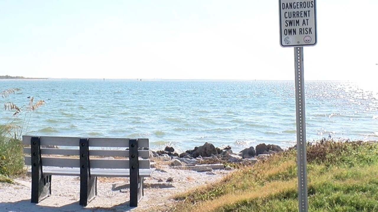 Mothers dies, six kids saved from rip current