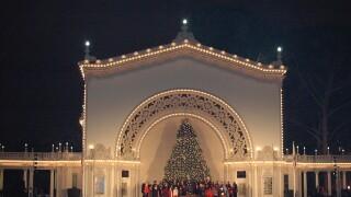 'Christmas on the Prado' rings in Christmas time at Balboa Park