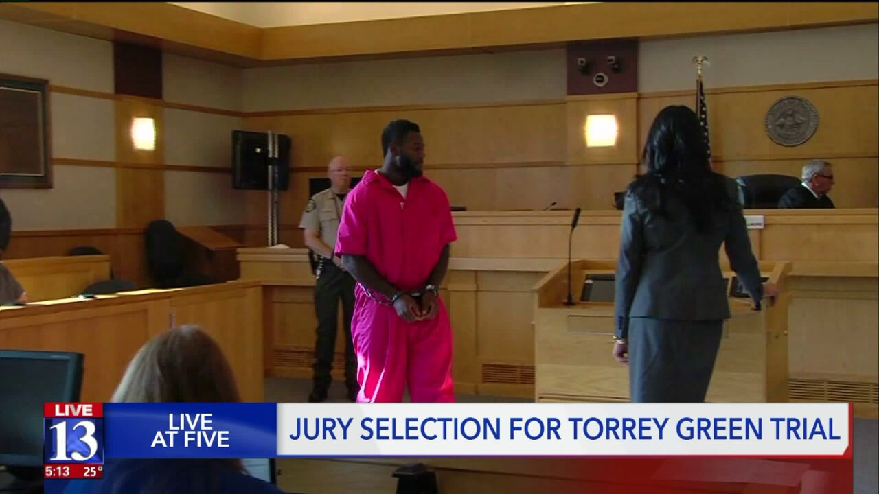 Jury selection begins for former Utah State University football player charged withrape