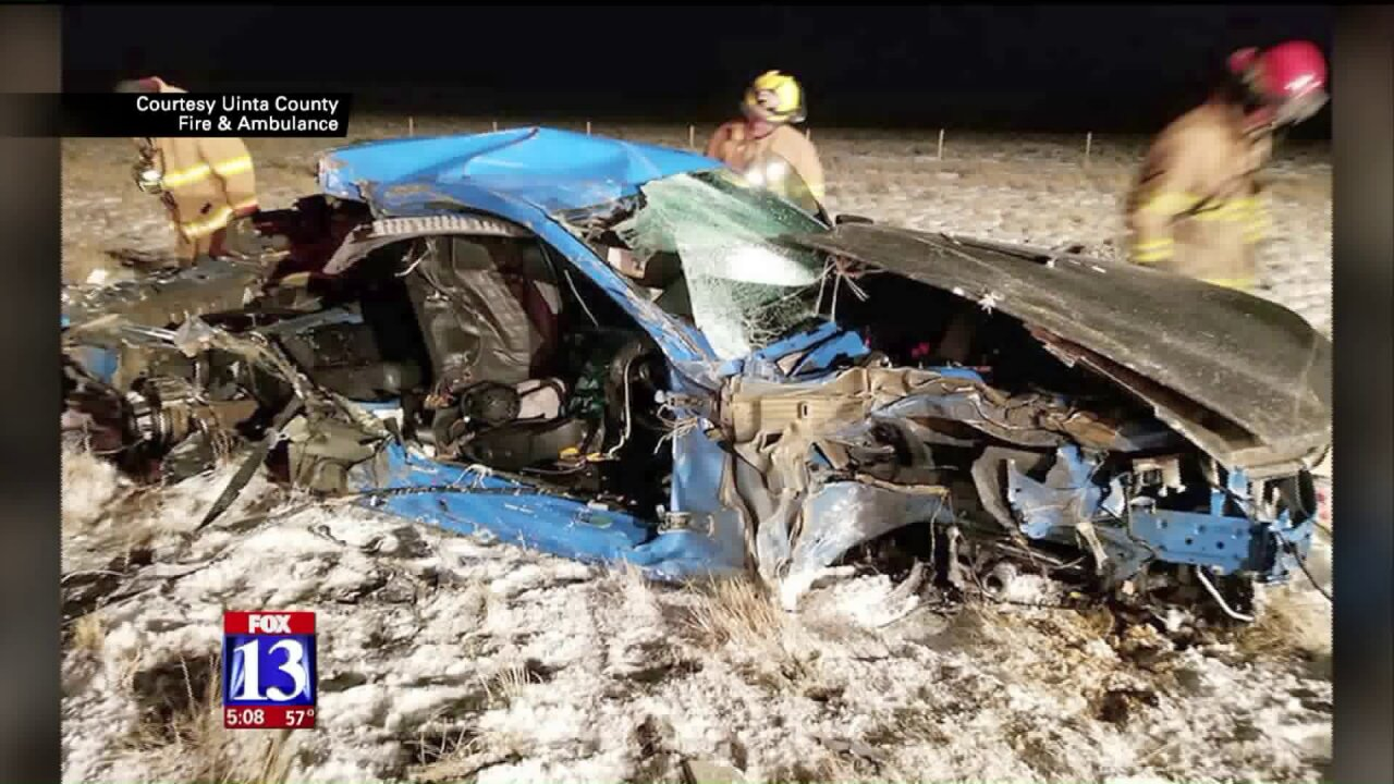 Utah man who survived head-on crash with semi says seat belt saved his life