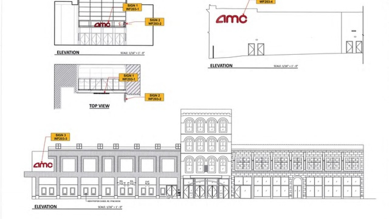 New AMC theater signs coming to Main Street