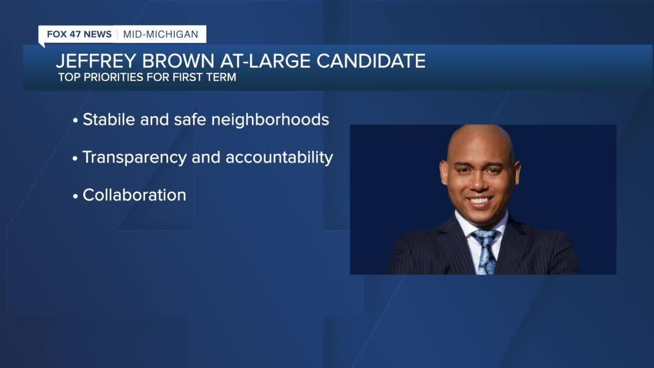 Jeffrey Brown, Lansing City Council candidate