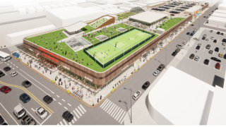 Empire State Development suggest the Broadway Market completely revamp and turn the roof into a community area