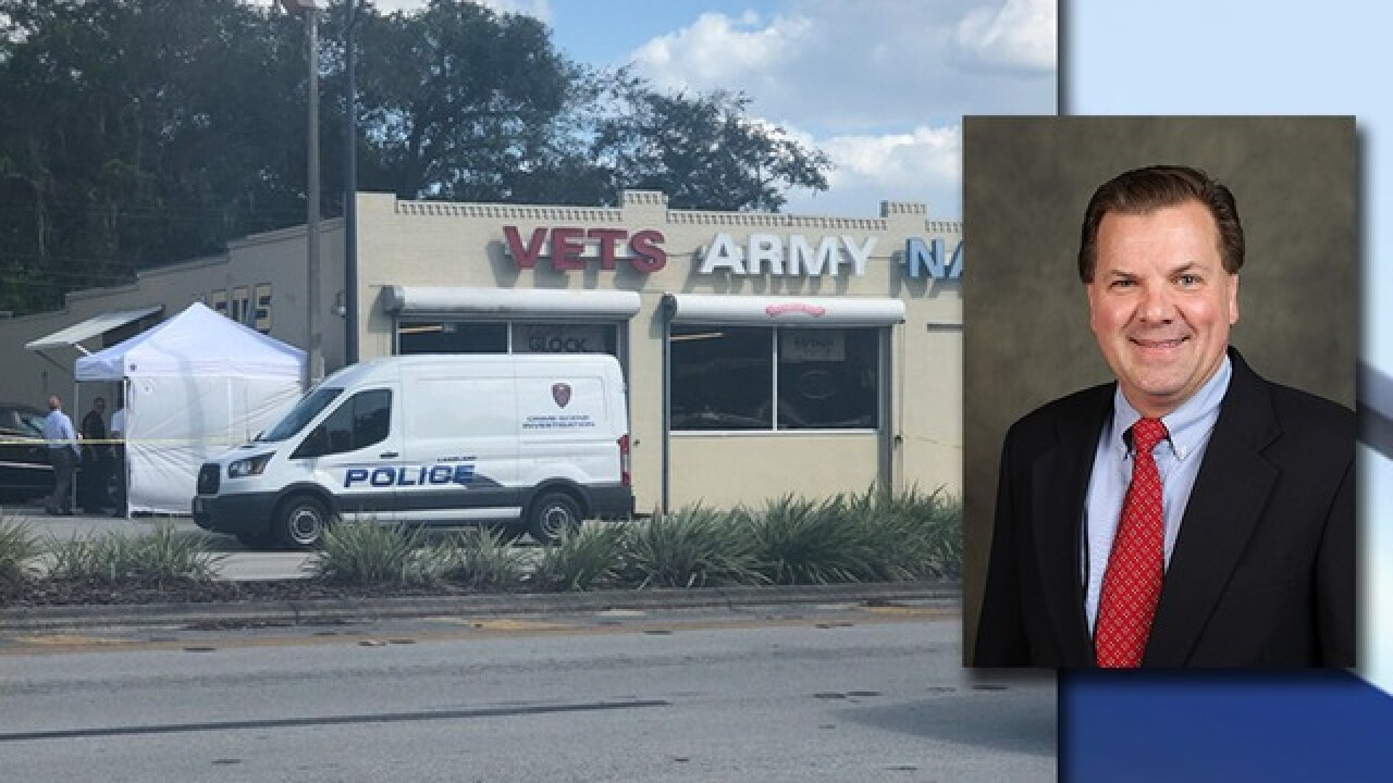 Deadly shooting at Vets Army & Navy Surplus