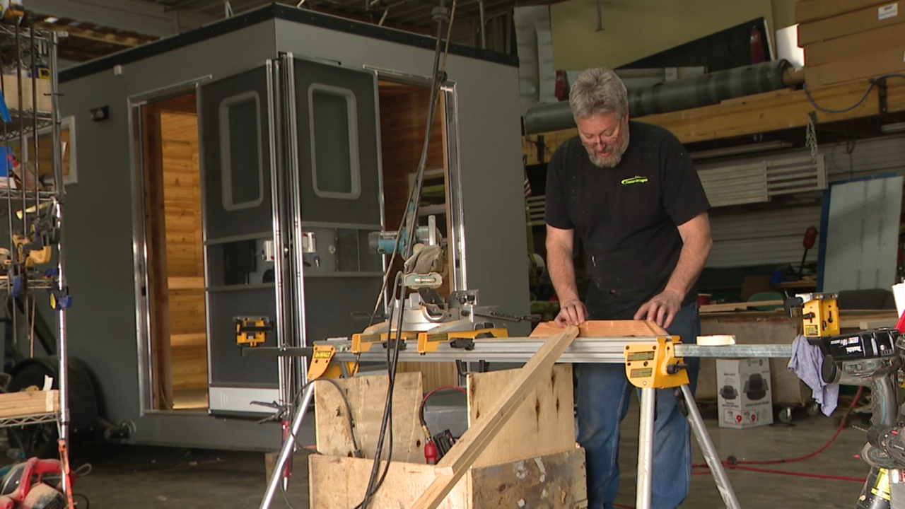 Man's business idea for traditional saunas picks up steam