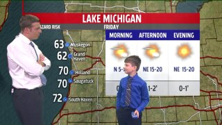 Say hi to our July Weather Kid, Callum!