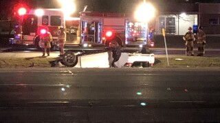 Police and fire crews work serious crash in Getzville