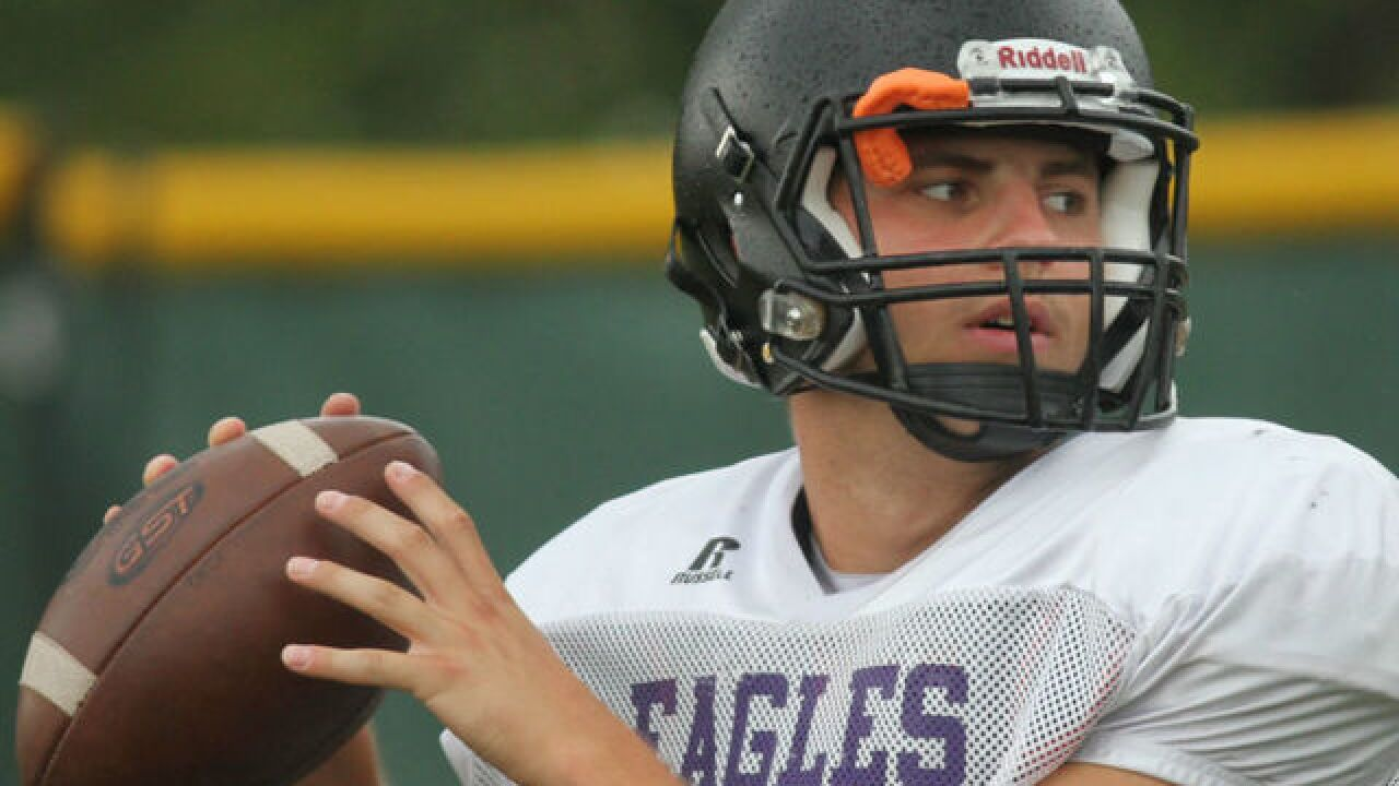 Cincinnati Hills Christian Academy QB Danny Vanatsky's leadership can be heard loud and clear