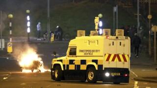 Britain Northern Ireland Ulster Protest