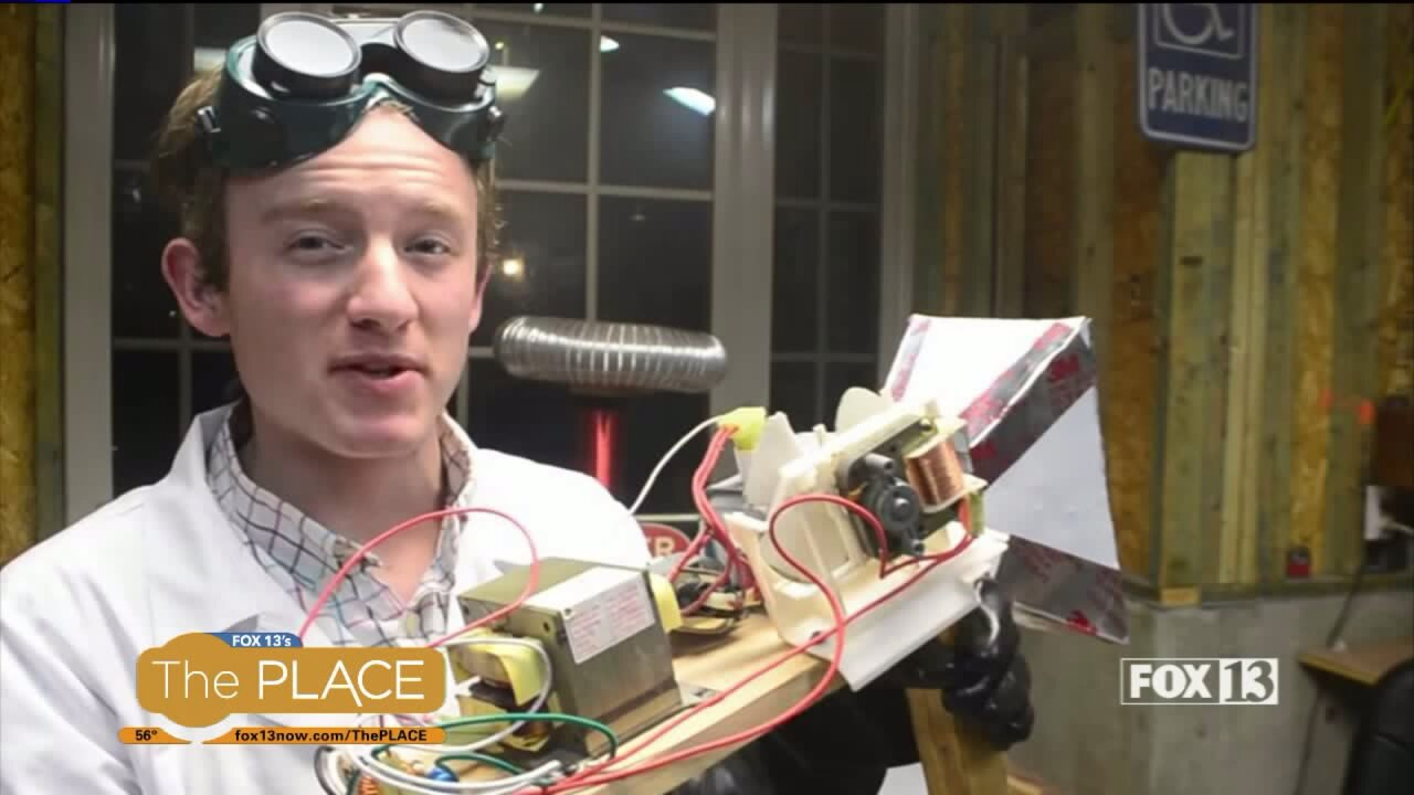 Meet the local science wiz kid with nearly 90,000 YouTubesubscribers!