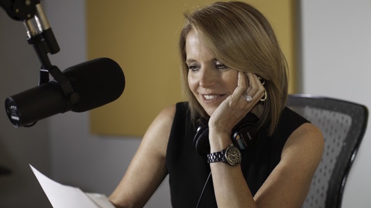 Earwolf launches 'Katie Couric' podcast