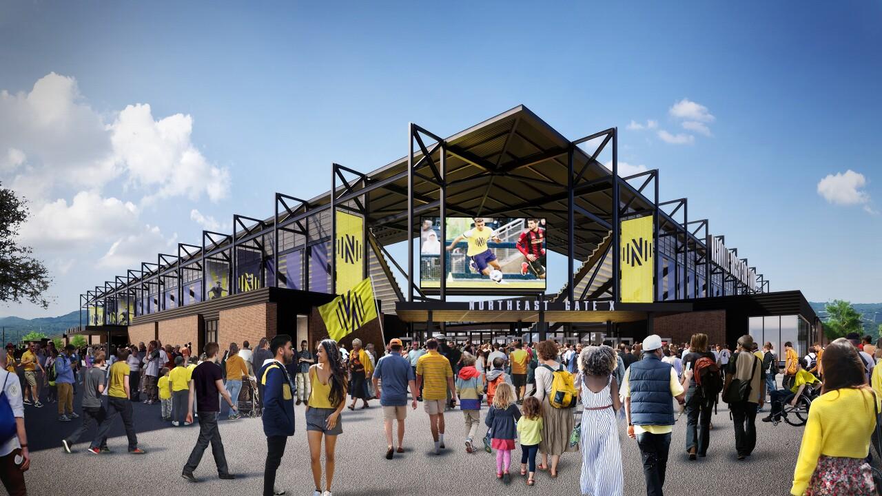 MLS stadium exterior