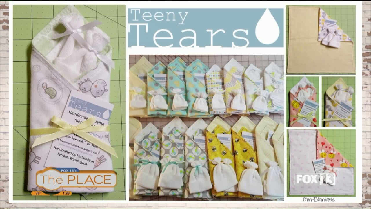 Teeny Tears bereavement clothing for stillborn babies