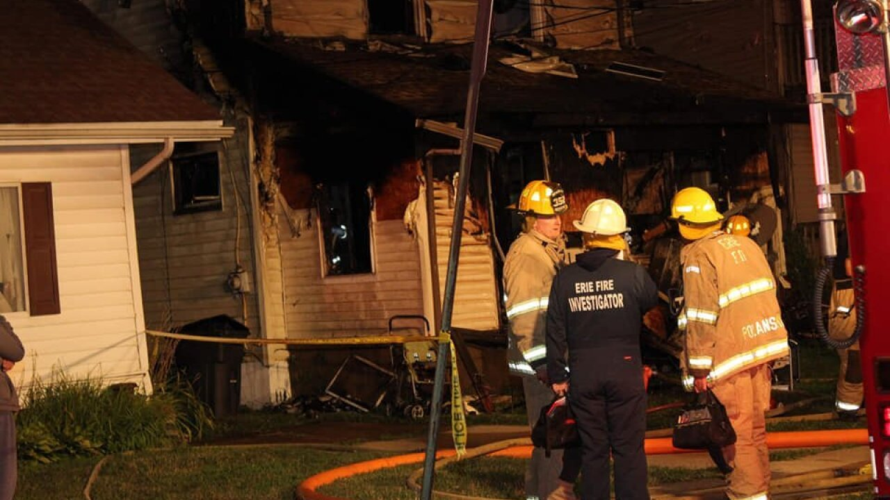 Fire at a Pennsylvania day care center kills four siblings and the homeowner's child