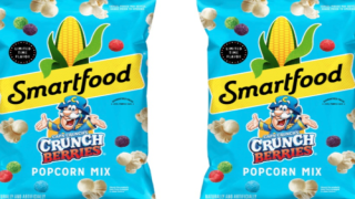 Snack On Cereal Anytime With Smartfood And Cap'n Crunch's New Popcorn Mix