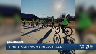 Bikes stolen from Bike Club Tulsa