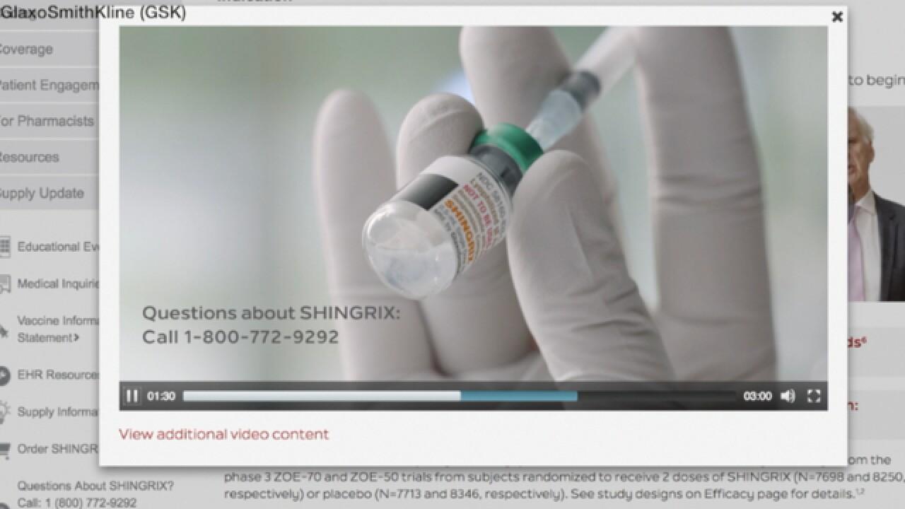 Shortage of shingles vaccine