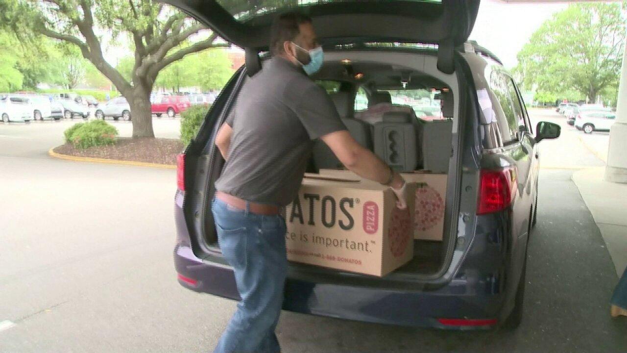 Donato's Pizza Sentara Virginia Beach donation.jpeg