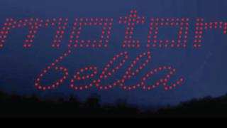 Motor Bella Drone Light Show