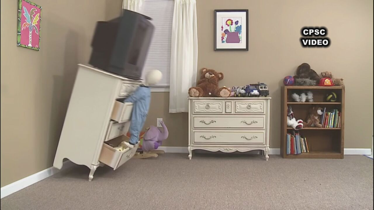 Parents ask lawmakers for better furniture tip-over safety
