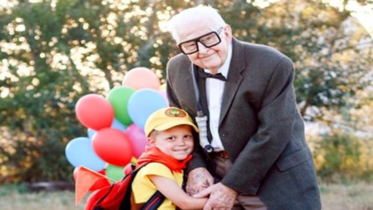 This 5-year-old Boy And His Great-grandparents Did An 'Up' Photoshoot—and The Photos Are Adorable