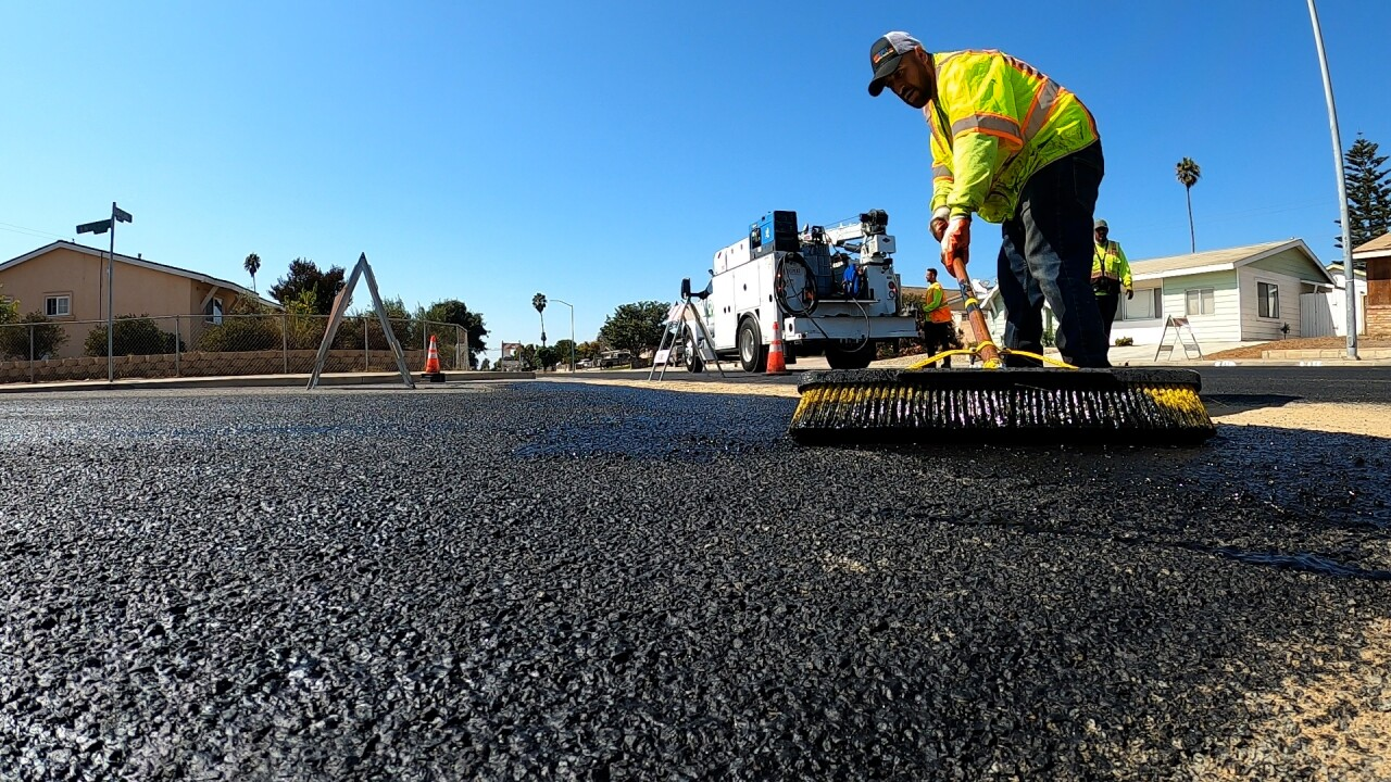Annual street improvement project kicks off in residential areas in Santa Maria.