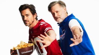 Actor Bill Pullman wears Buffalo Bills hoodie on cover of Parade magazine