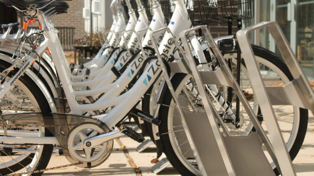Blue Ash becomes region's first suburb with its own bike share