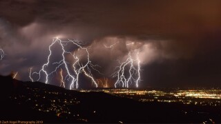 Colorado Springs Lightning Storm