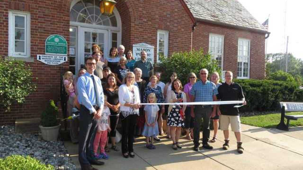 Capital Area District Library ribbon cutting