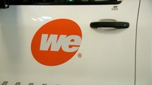WE Energies truck