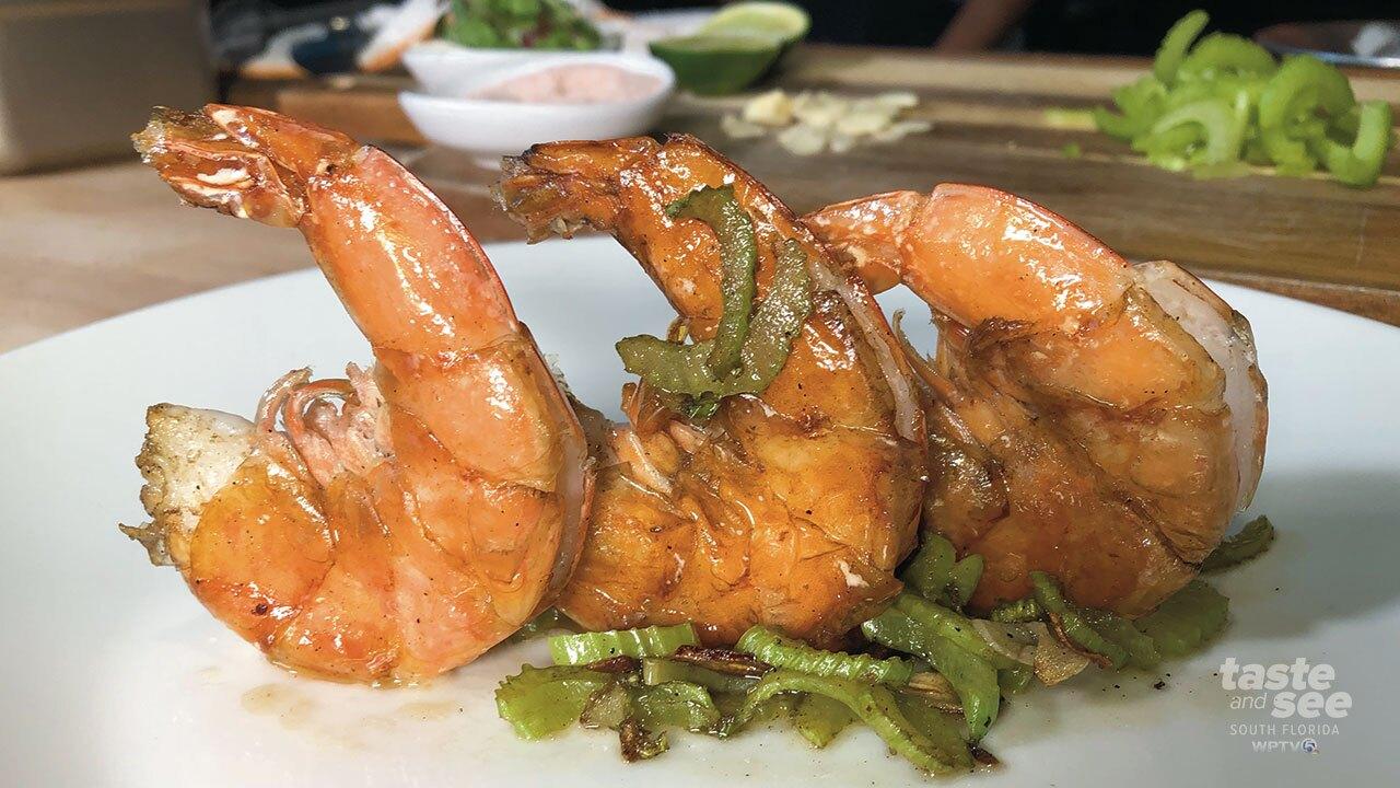 Recipe: Simply Shrimp, from Fern Street Wine Bar & Kitchen in West Palm Beach
