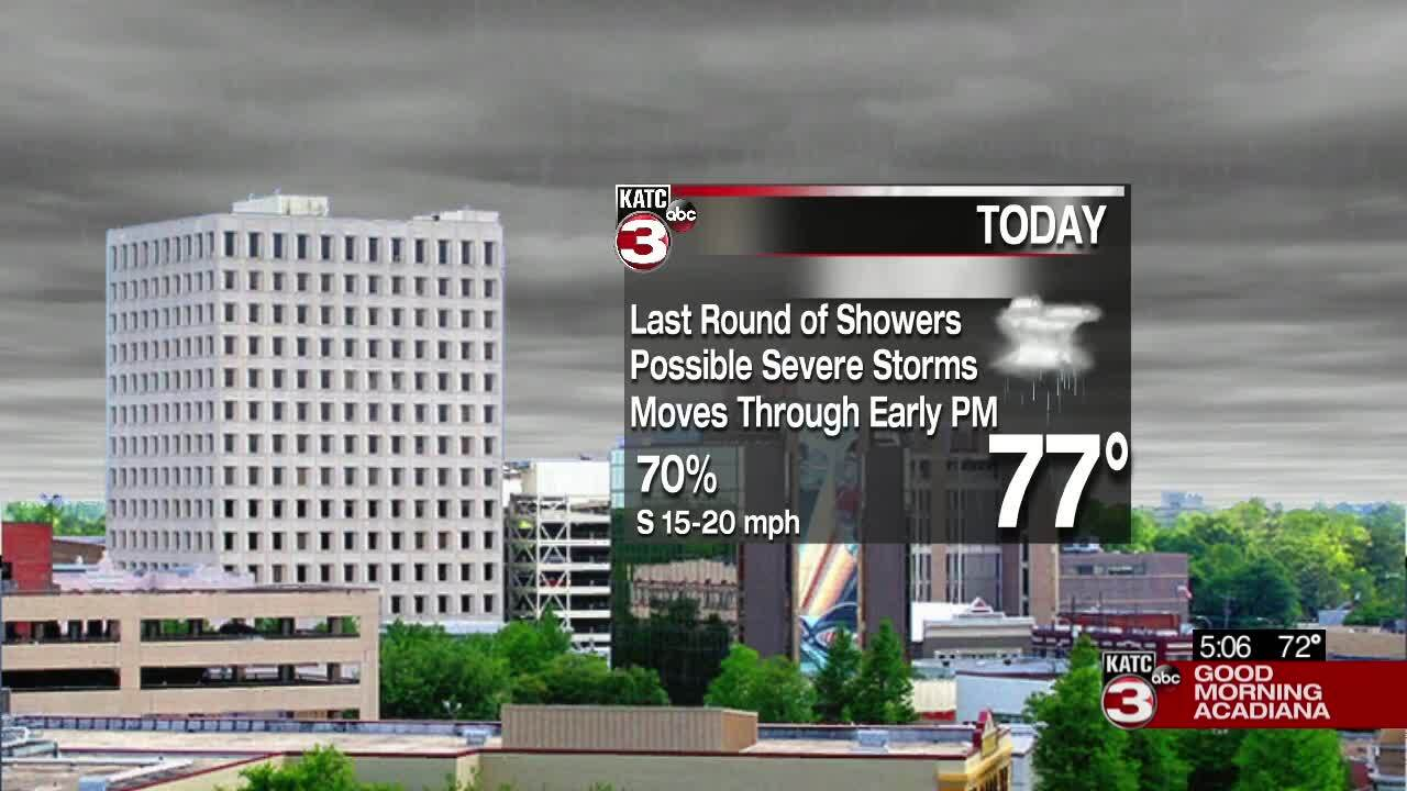 Weather graphic 3-25-21