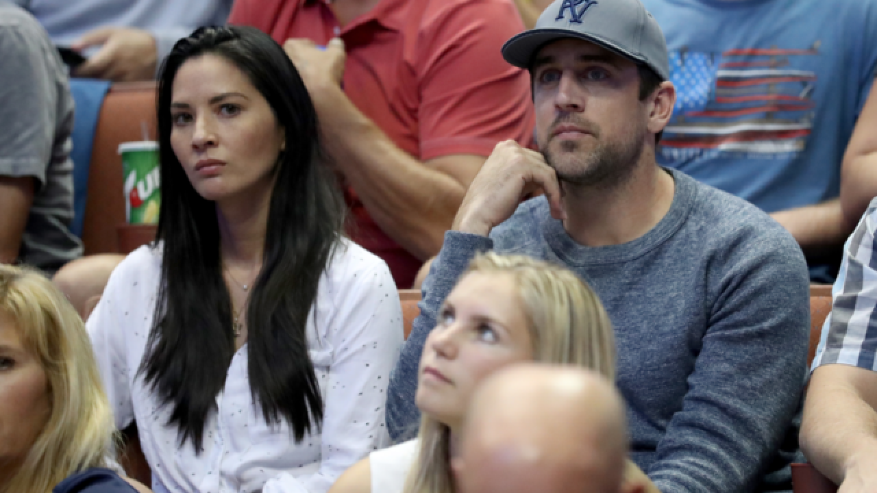 Vikings troll Packers, Aaron Rodgers by extending invite to Olivia Munn