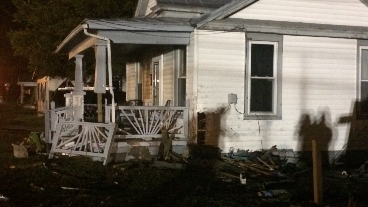 Man charged with DUI after crashing into Portsmouth home; passenger in critical condition