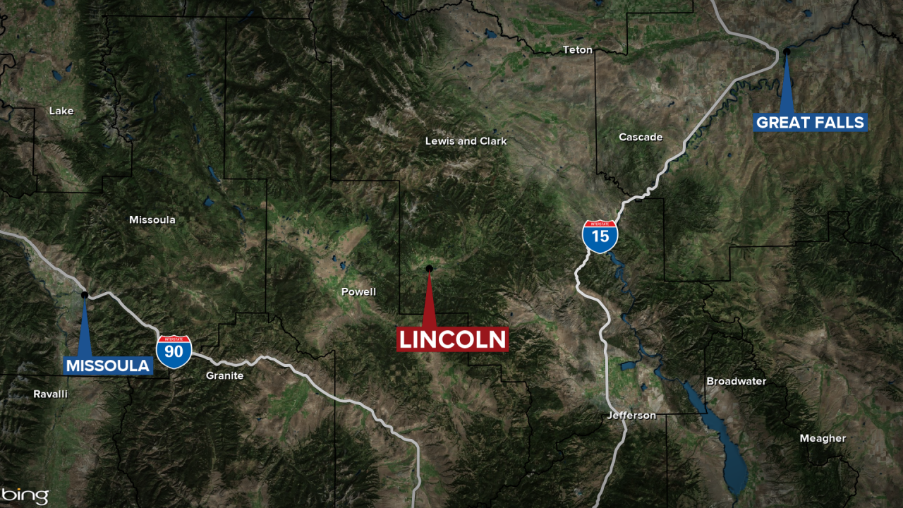 Lincoln Shelter in Place Map