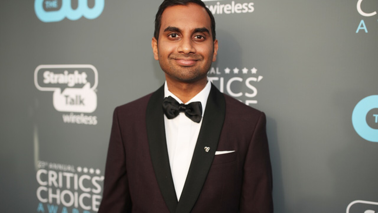 Aziz Ansari performing stand-up in November show in Indianapolis