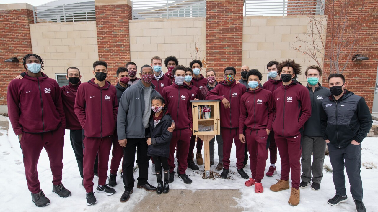 Montana Griz men's basketball team and the Diversity Education Library