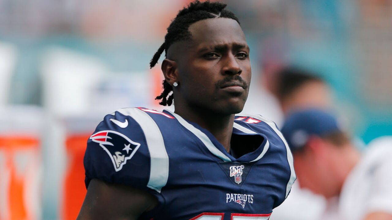 Antonio Brown released by the New England Patriots