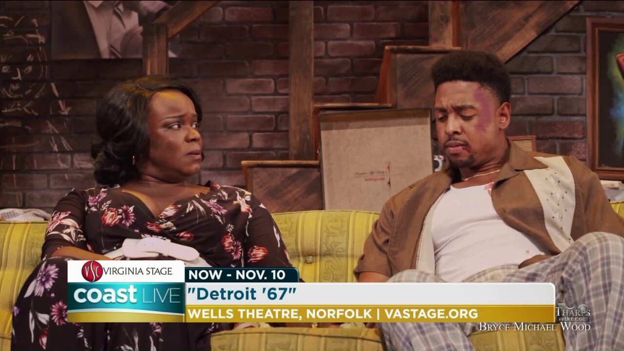 "A look at Virginia Stage Company's production of ""Detroit '67"" on Coast Live"