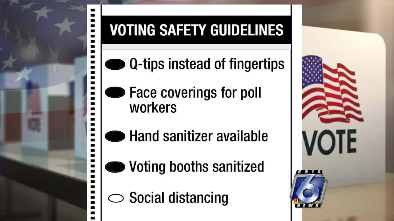 New COVID safety rules in places for runoff voting locations